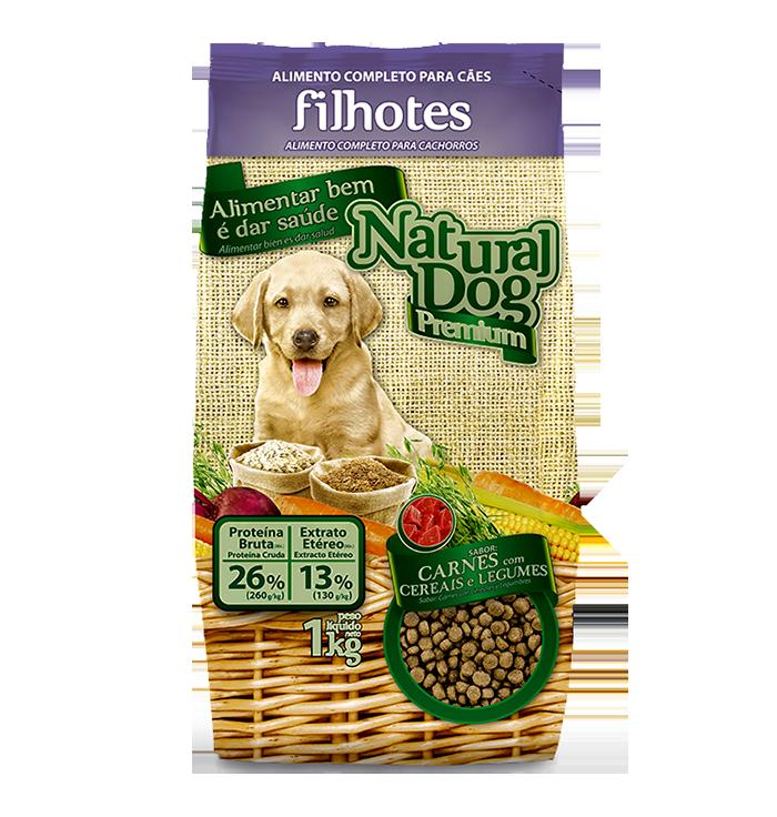 Natural Dog Premium Especial Filhotes